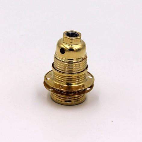 Casquillo dorado E14