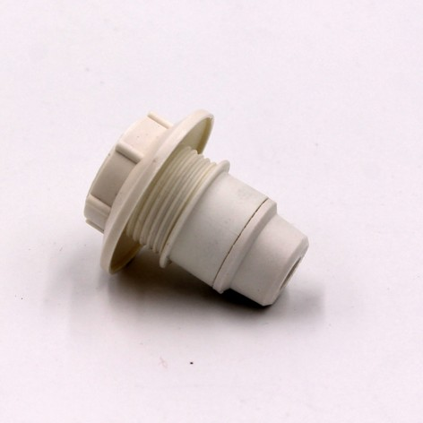Casquillo blanco E14