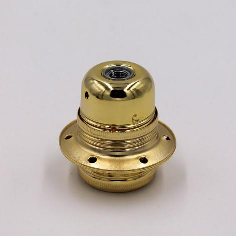 Casquillo oro E27