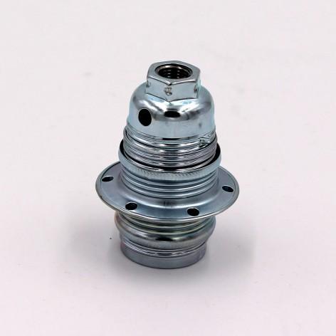 Casquillo plata E14